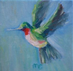Hummingbird Miniature 4